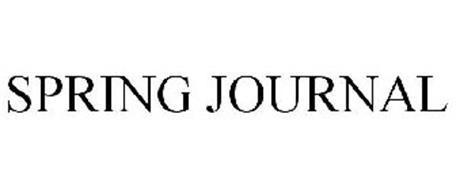 SPRING JOURNAL