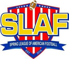 SLAF SPRING LEAGUE OF AMERICAN FOOTBALL EST. 2016