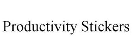 PRODUCTIVITY STICKERS