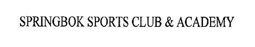 SPRINGBOK SPORTS CLUB & ACADEMY