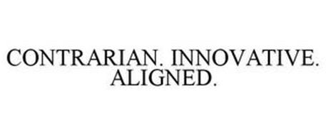 CONTRARIAN. INNOVATIVE. ALIGNED.