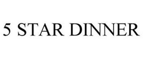 5 STAR DINNER