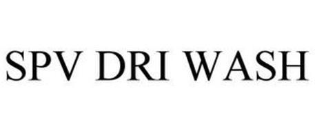 SPV DRI WASH