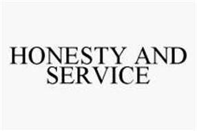 HONESTY AND SERVICE