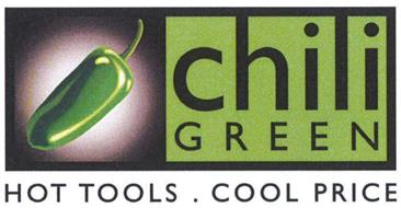 CHILI GREEN HOT TOOLS . COOL PRICE
