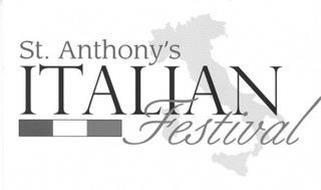 ST. ANTHONY'S ITALIAN FESTIVAL