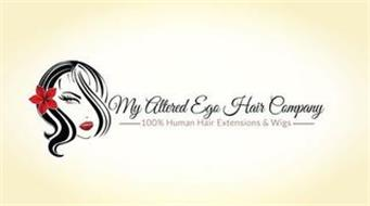 MY ALTERED EGO HAIR COMPANY 100% HUMAN HAIR EXTENSIONS & WIGS