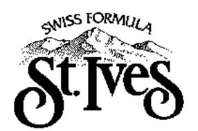 ST. IVES SWISS FORMULA