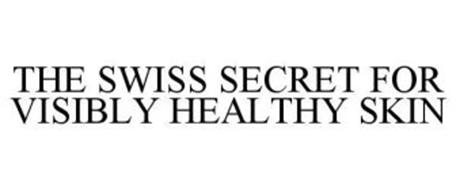 THE SWISS SECRET FOR VISIBLY HEALTHY SKIN
