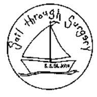 SAIL THROUGH SURGERY S.S. ST.JOHN