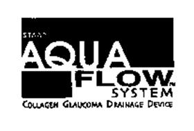 STAAR AQUA FLOW SYSTEM COLLAGEN GLAUCOMA DRAINAGE DEVICE