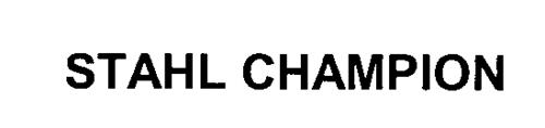STAHL CHAMPION