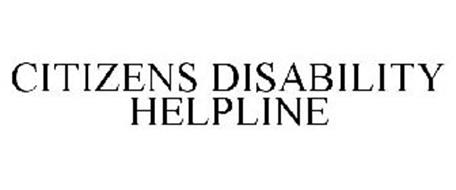 CITIZENS DISABILITY HELPLINE
