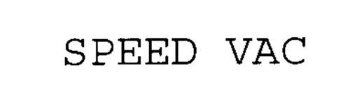 SPEED VAC