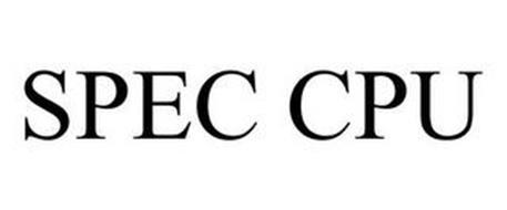 SPEC CPU