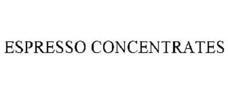 ESPRESSO CONCENTRATES