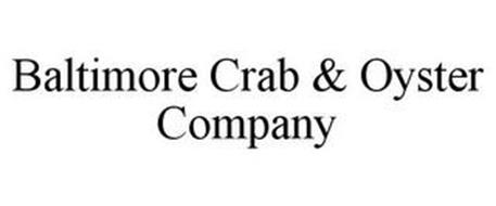 BALTIMORE CRAB & OYSTER COMPANY