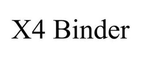 X4 BINDER