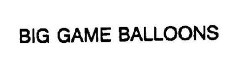 BIG GAME BALLOONS