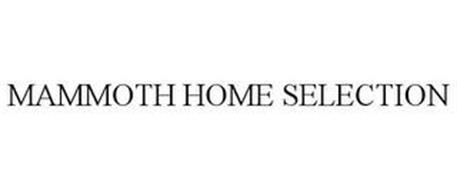 MAMMOTH HOME SELECTION