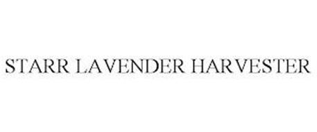 STARR LAVENDER HARVESTER
