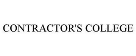 CONTRACTOR'S COLLEGE