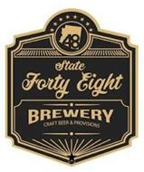 48 STATE FORTY EIGHT BREWERY CRAFT BEER & PROVISIONS