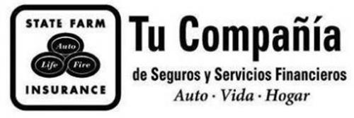 STATE FARM INSURANCE AUTO LIFE FIRE TU COMPAÑÍA DE SEGUROS Y SERVICIOS FINANCIEROS AUTO · VIDA · HOGAR