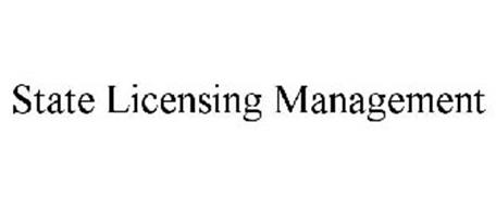STATE LICENSING MANAGEMENT