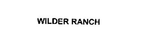 WILDER RANCH