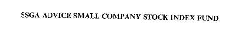 SSGA ADVICE SMALL COMPANY STOCK INDEX FUND