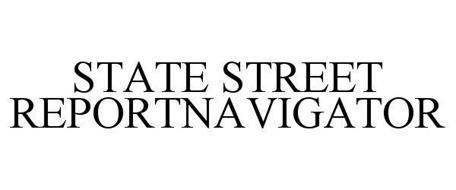 STATE STREET REPORTNAVIGATOR