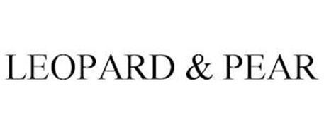 LEOPARD & PEAR