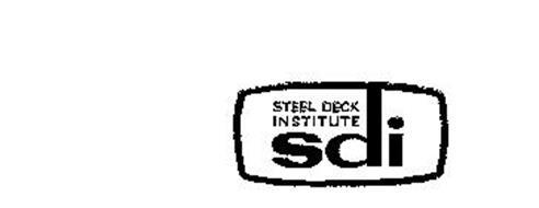 SDI STEEL DECK INSTITUTE