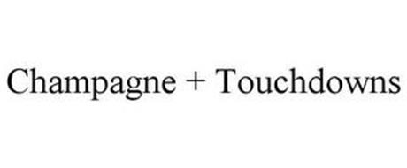 CHAMPAGNE + TOUCHDOWNS