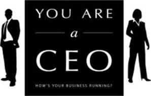 YOU ARE A CEO HOW'S YOUR BUSINESS RUNNING?