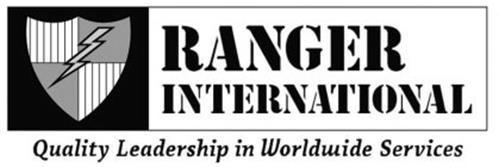 RANGER INTERNATIONAL QUALITY LEADERSHIP IN WORLDWIDE SERVICES