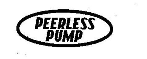 PEERLESS PUMP Trademark of STERLING FLUID SYSTEMS (USA) LLC