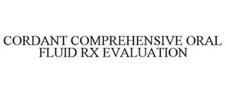 CORDANT COMPREHENSIVE ORAL FLUID RX EVALUATION