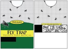 DISPOSABLE DESECHABLE FLY TRAP TRAMPA PARA MOSCAS FILL LINE LINEA INDICADORA 1 2 3 4 7 8