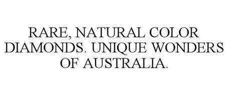 RARE, NATURAL COLOR DIAMONDS. UNIQUE WONDERS OF AUSTRALIA.