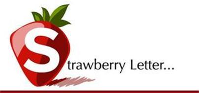 STRAWBERRY LETTER...