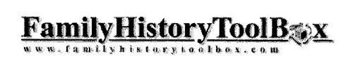 FAMILY HISTORY TOOLBOX WWW.FAMILYHISTORYTOOLBOX.COM