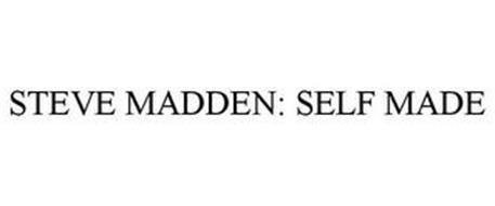 72e42a87b06 STEVE MADDEN  SELF MADE Trademark of Steven Madden