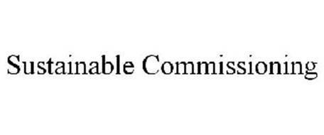 SUSTAINABLE COMMISSIONING