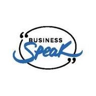 BUSINESS SPEAK