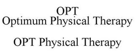 OPT OPTIMUM PHYSICAL THERAPY OPT PHYSICAL THERAPY