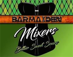 BARMAIDEN MIXERS BITTER SWEET SOURS