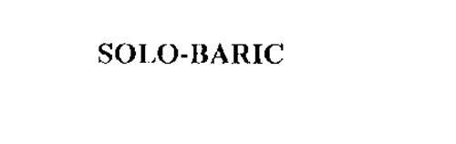 SOLO-BARIC