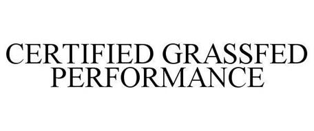 CERTIFIED GRASSFED PERFORMANCE